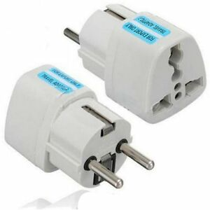 New Portable Uk Us Au To Eu European Power Socket Plug