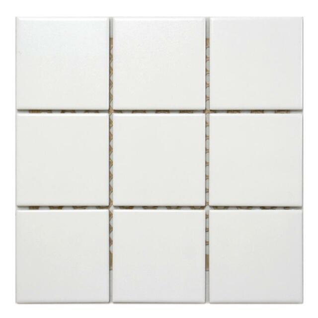 Fliesen Mosaik Jasba 9010 Weiss Matt 10 10cm Gunstig Kaufen Ebay