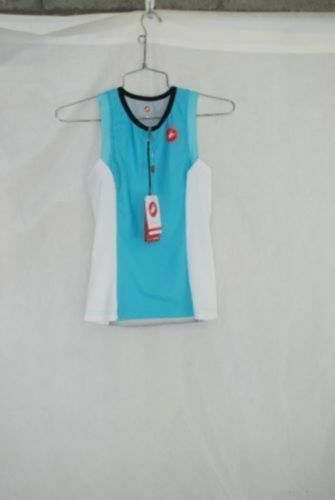 Castelli Damen Fahrrad Gratis mit Tri Unterhemd Triathlon GRÖSSE S NEU Farbe