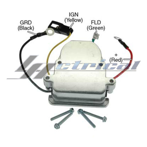 VOLTAGE REGULATOR FOR MERCRUISER INBOOARD ENGINES MODEL 198MIE 228 MIE 255 MIE