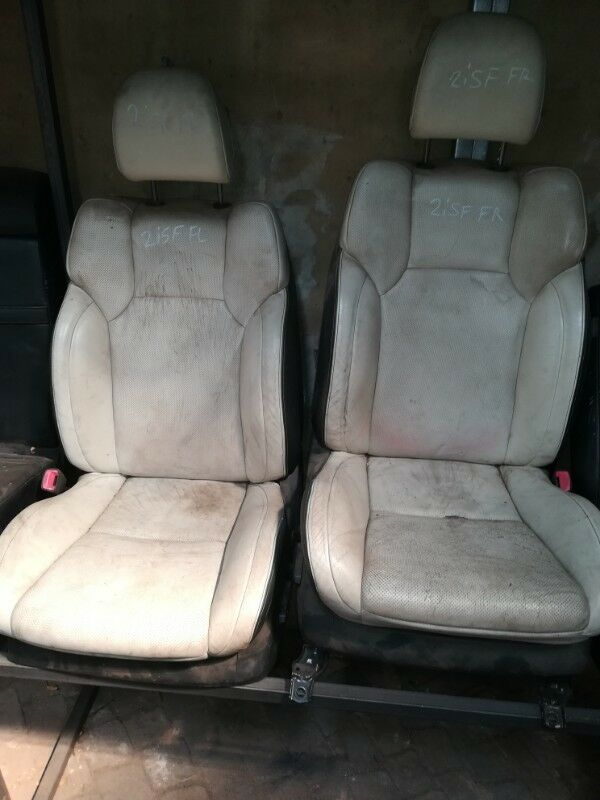 LEXUS 2ISF FRONT RIGHT AND FRONT LEFT SEATS FOR SALE