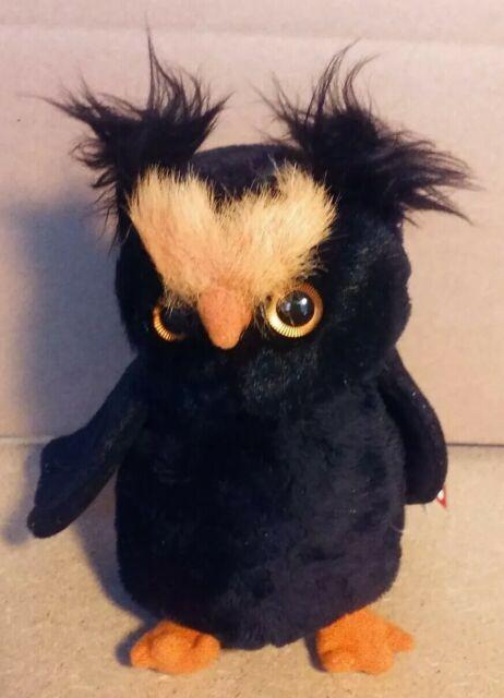 Ty Beanie Babies Hootsey The Halloween Owl New