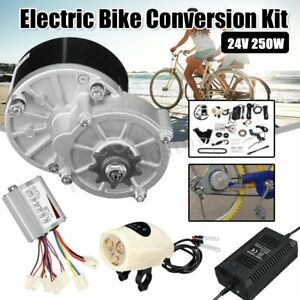 24V-250W-Electric-Bike-Conversion-Kit-Controller-Charger-fr-22-28-Inch-Bicycle