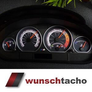Tachoscheibe für Tacho BMW E46 Benziner 3D  M3
