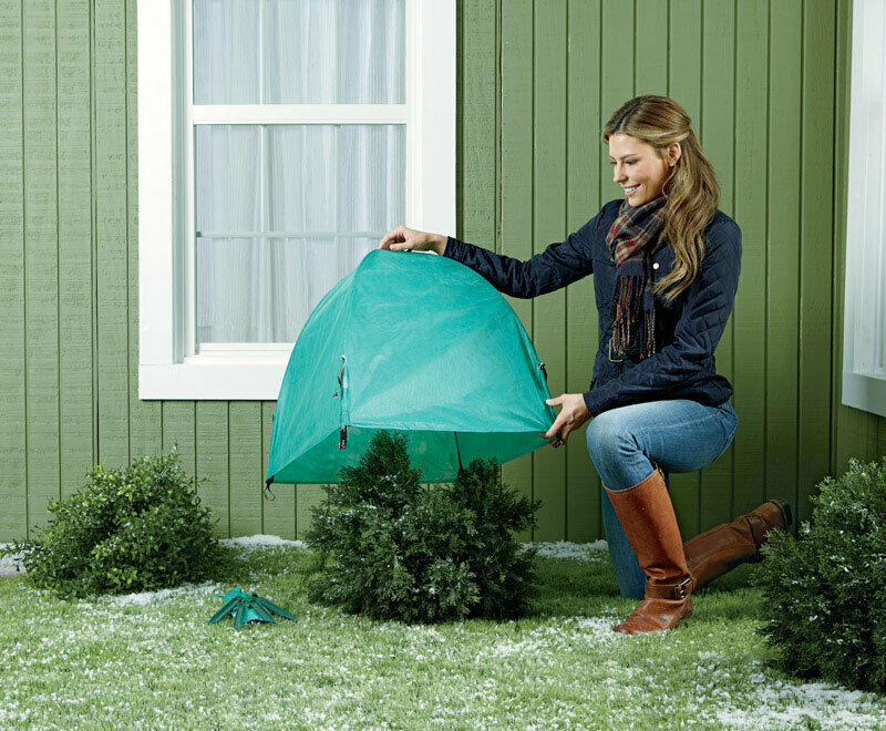 Nuvue 30290 All Season Tear Resistance Green Frost Protector Cover 22 Hx22 W in.