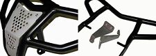 Raptor 700 Front Bumper & Rear Grab Bar Black 2006-2017 2tuff Bash Guard Package
