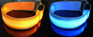 Light-up // flash safety bands child arm band hiking etc cycling wrist ankle