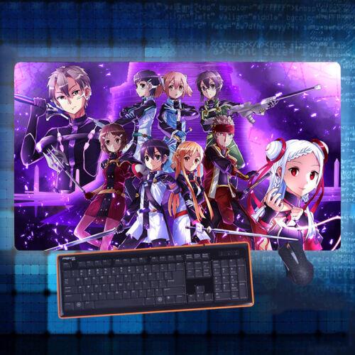 Anime Sword Art Online Kirito Mouse Pad Play mat GAME Mousepad 40*70cm#J-E106