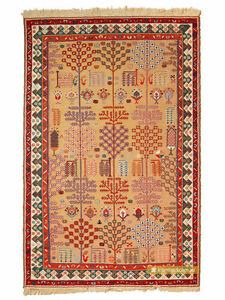 Mugan-Sumak-kilim-Rug-Willow-Tree-194x130cm
