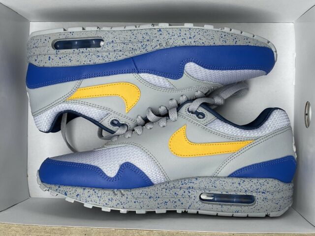 Nike ID Air Max 1 Men's Size 11 Blue White by You Custom Shoes 943756-901