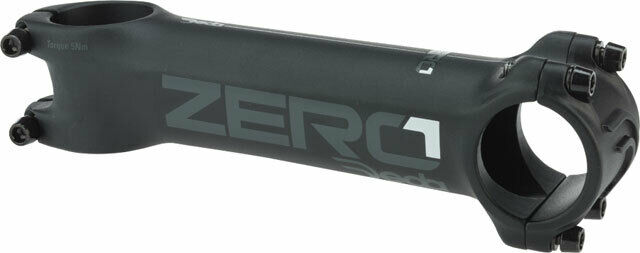 // 6 Degree Matte Black MY17 Deda Elementi Zero1 Stem 90mm