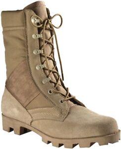 Image is loading Desert-Tan-Leather-Speedlace-Panama-Sole-Jungle-Boots 8ddeae23971