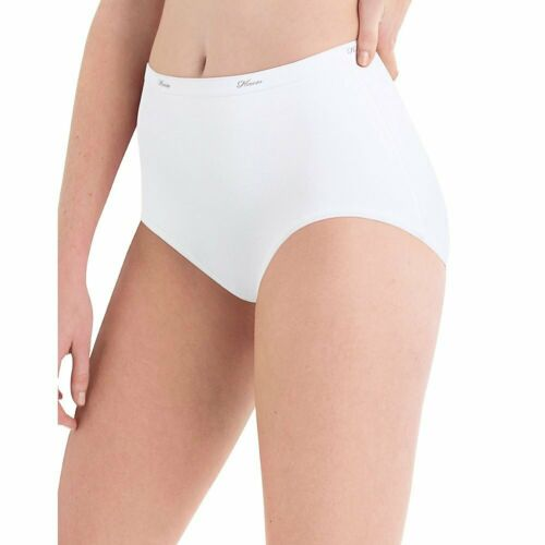 Hanes Women/'s 10 Pack Cotton Brief Panty Choose SZ//Color
