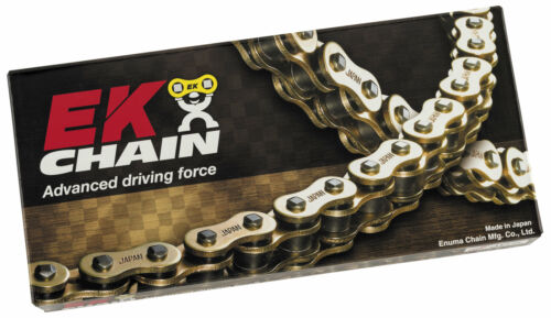 EK Chains 530 x 120 Links SROZ2 Series Oring Sealed Gold Drive Chain