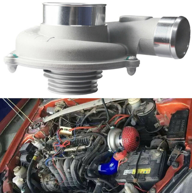 Electric Turbo Supercharger Turbocharger Kit Air Filter Intake For Universal Car Online Ebay