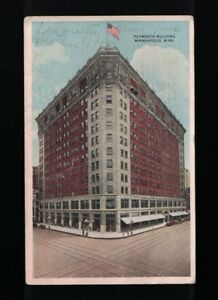 1919-Plymouth-Building-Minneapolis-MN-Post-Card-Hennepin-Ave-amp-6th-Street