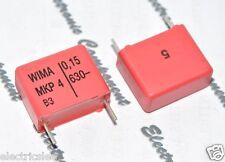 10pcs - WIMA MKP4 0.15uF (0.15µF 0,15uF 150nF) 630V 5% pich:15mm Capacitor