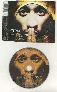 2pac Do For Love Cd Single Ebay