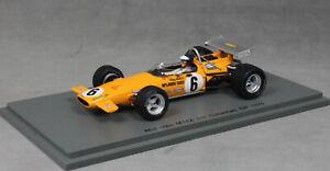 Spark-McLaren-M14A-CANADIAN-GRAND-PRIX-1970-Peter-GETHIN-S7141-1-43-NUOVA-resina