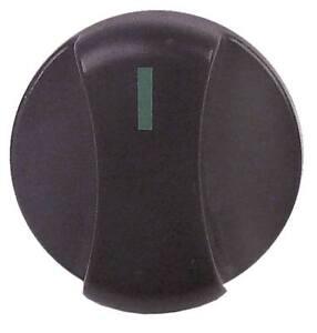 BANDTILEKnebel mit Nullstrich für Achse ø 6x4,6mm Achsabflachung unten