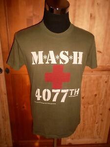 Very Rare Vintage 80`s Mash M*a*s*h* Shirt Movie Us Serie Usa 80er Jahre Xl (l) GläNzende OberfläChe