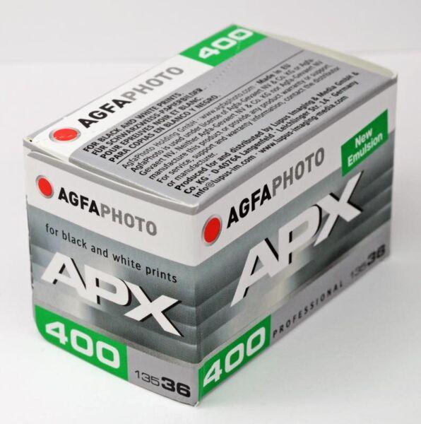 Agfa Apx 400 135 36 Poses, Utilisable Jusqu'à Janvier 2020 éLéGant En Odeur