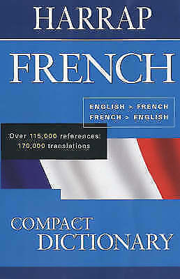 Harrap French Compact Dictionary, , Excellent Book