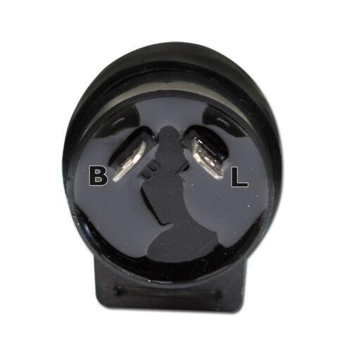 2-polig 233470 Motorrad Blinkrelais für LED Blinker,12V B=geschalten max 10W,