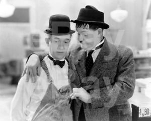 Laurel & Hardy, Stan Laurel, Oliver Hardy 10x8 Photo