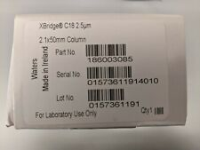 Waters Xbridge C18 25m Hplc Column 21 X 50mm New Sealed Box