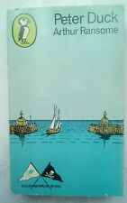 ARTHUR RANSOME.PETER DUCK.1ST S/B PUFFIN NO PS340 1968,B/W ILLS.SWALLOWS AMOZANS