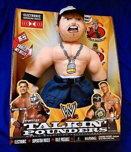 WWE-John-Cena-Talkin-Pounders-Talking-Plush-Wrestling-Figure-Toy-Like-Buddies