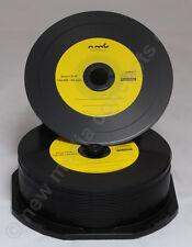 Vinyl CD-R Carbon,50 Stück in Cake,700 MB zum archivieren, Dye schwarz Gelb
