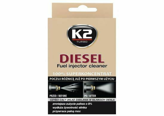 K2 DIESEL Injector Cleaner for Diesel ET3121 50ml Easy to use