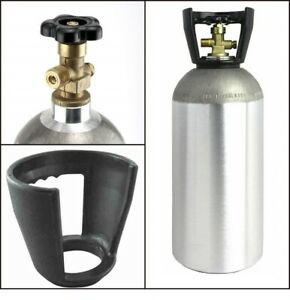 CO2-Aluminum-10-LB-Cylinder-Tank-CGA320-Valve-Draft-Beer-Soda-Kegerator-Empty