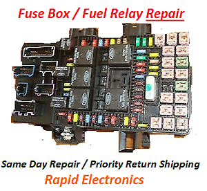 ford expedition lincoln navigator 2003 2006 fuse box fuel pump rh ebay com 2006 ford expedition fuse box replacement 2006 ford expedition fuse box diagram