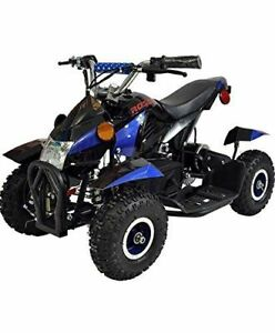 Rosso Motors 500w Kids Atv Quad 4 Wheeler Ride On With 36v Electric Battery