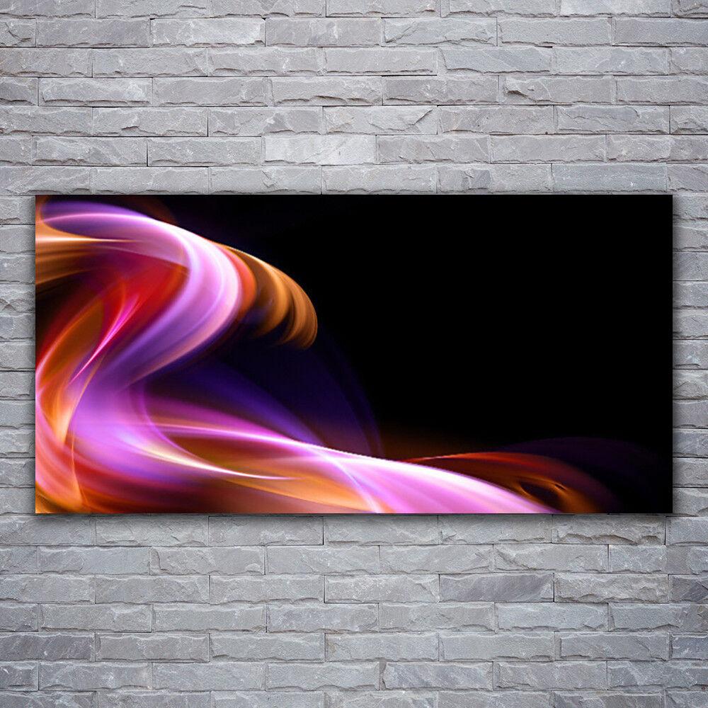 Acrylglasbilder Wandbilder Druck 120x60 Abstrakte Welle Kunst