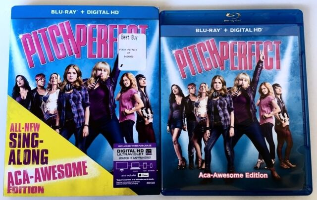PITCH PERFECT BLU RAY SING-ALONG ACA-AWESOME EDITION WITH