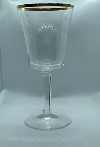 RARE-LOT-of-4-Vintage-Lenox-ETERNAL-Barclay-Crystal-Stem-7-25-Water-Goblet-Glass