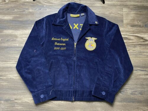 FFA Vocational Ag Corduroy Farmer Jacket Stitched