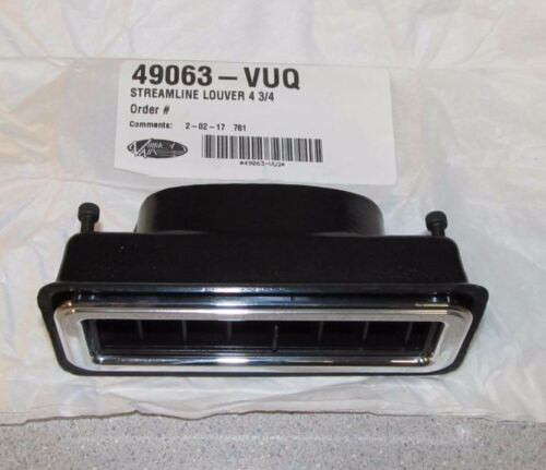 "Vintage Air 49063-VUQ A//C Vent Louver Streamline Polished 1-3//4/""x 4-3//4/"""
