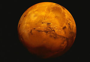 Encadree Imprimer Planete Mars Photo Poster Art Espace Galaxie