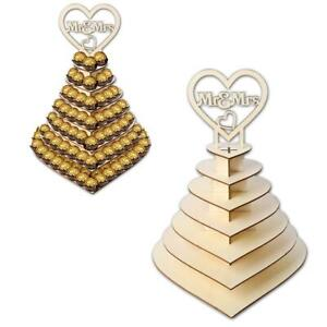 For-Ferrero-Rocher-Mr-amp-Mrs-Heart-Wedding-Display-Stand-Party-Centrepiece-FAST