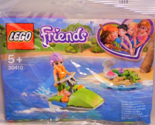 Lego Friends Promo Polybag 30410 Mia/'s Schildkrötenrettung Schildkröte Jet NEU