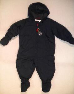 Nwt Baby Gap Down Puffer Snowsuit Boys 6 12 Mo Warmest