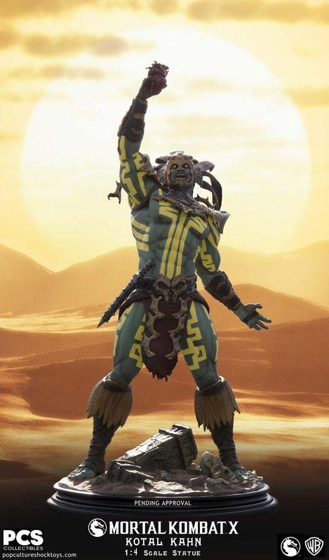 el más barato POP CULTURE SHOCK Mortal Kombat X: Kotal Kahn Kahn Kahn - Sun God 1:4 Scale Statue  están haciendo actividades de descuento