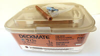 Lot Of 2 Deckmate 9 X 3 Composite Deck Screws T-20 Star Drive Free Driver Bit