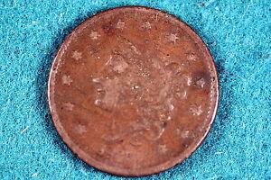 ESTATE FIND 1835  CORONET HEAD Large Cent!! #G3603