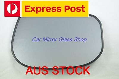 RIGHT DRIVER SIDE HONDA JAZZ GE 2008-2014 MIRROR GLASS WITH BACK PLATE